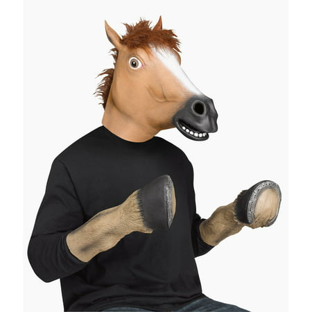 Fun World Horse Head Mask Adult Halloween Accessory