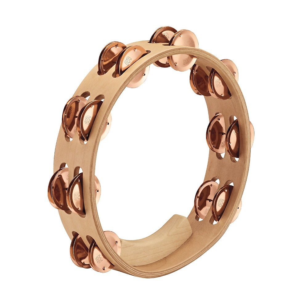 Meinl Artisan Edition Tambourine Two Rows Bronze Jingles 10 in. by Meinl