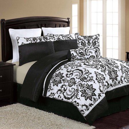 Discontinued Vcny Home Danielle 8 Piece Black And