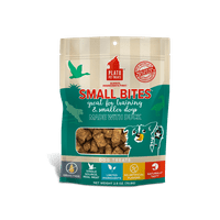 Plato Pet Treats Small Bites Duck Grain-Free Dog Treats, 2.5 Ounce
