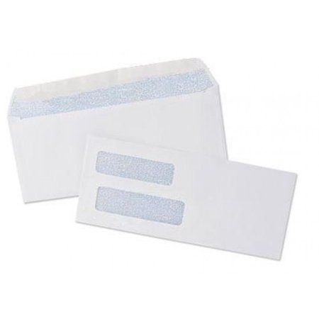 Size 9 - Double Window Check Security Envelopes - Designed for Checks - Pack of 50 - Window Envelope Size