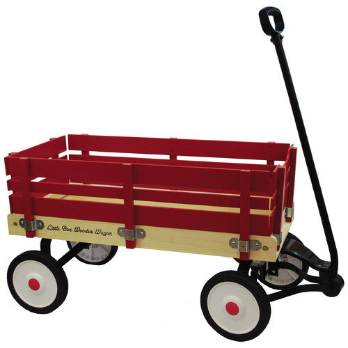 Grand Forward Little Box Wooden Wagon Ride-On