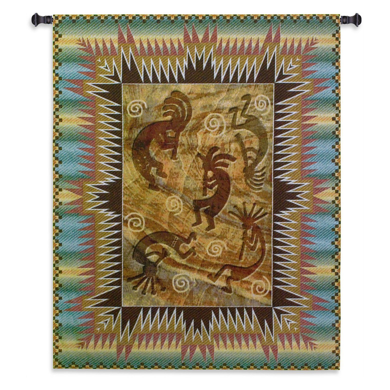 Fine Art Tapestries Southwest Ancient Ones Burst Wall Tapestry by Supplier Generic