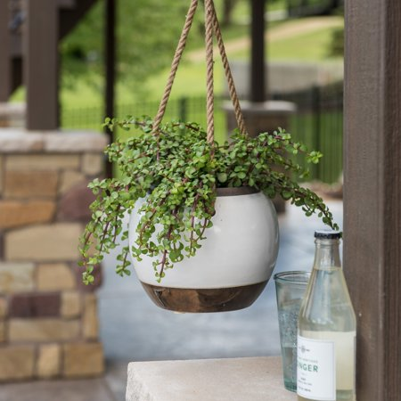 Belham Living Hayden Ceramic Hanging - Indoor Hanging Planters