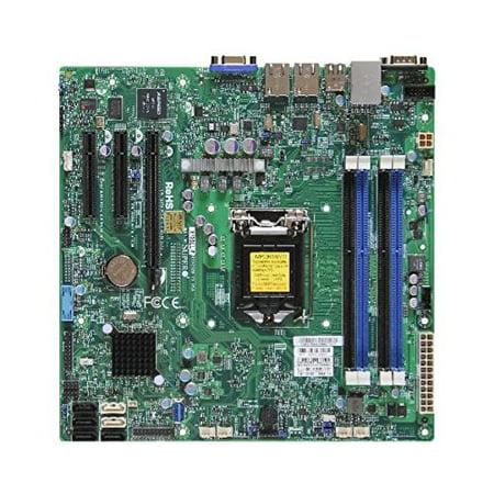 Supermicro X10sll F B Lga1150  Intel C222 Pch  Ddr3  Sata33 0  V 2Gbe  Microatx Server Motherboard