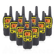 Midland T61VP3 X-TALKER , GMRS Two Way Radio Walkie Talkies , 10 Pack