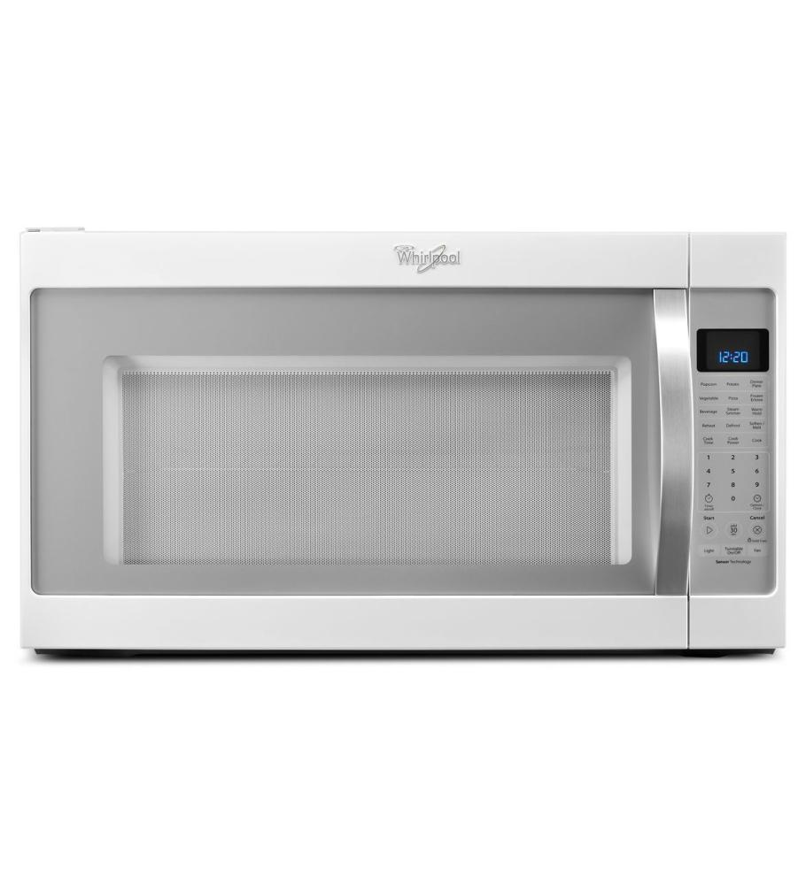 Whirlpool WMH53520CH 2.0 Cu. Ft. White Ice Over-the-Range Microwave