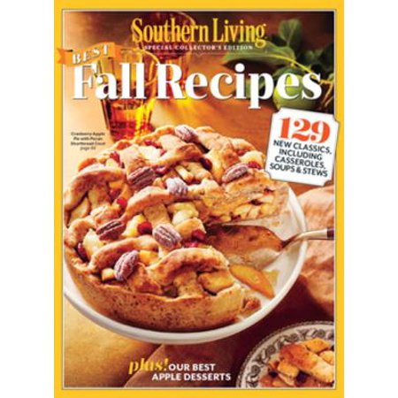 SOUTHERN LIVING: Best Fall Recipes - eBook
