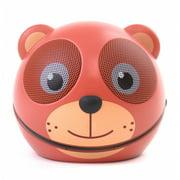 Zoo Tunes MCS01BT Compact Portable Bluetooth Stereo Speaker Teddy Bear