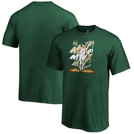 Giannis Antetokounmpo Milwaukee Bucks Fanatics Branded Youth 2019 NBA MVP T-Shirt - Green ()