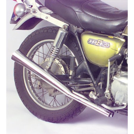 Mac 4-Into-2 Replacement Mufflers Flare tips Fits 79-82 Honda CB750K