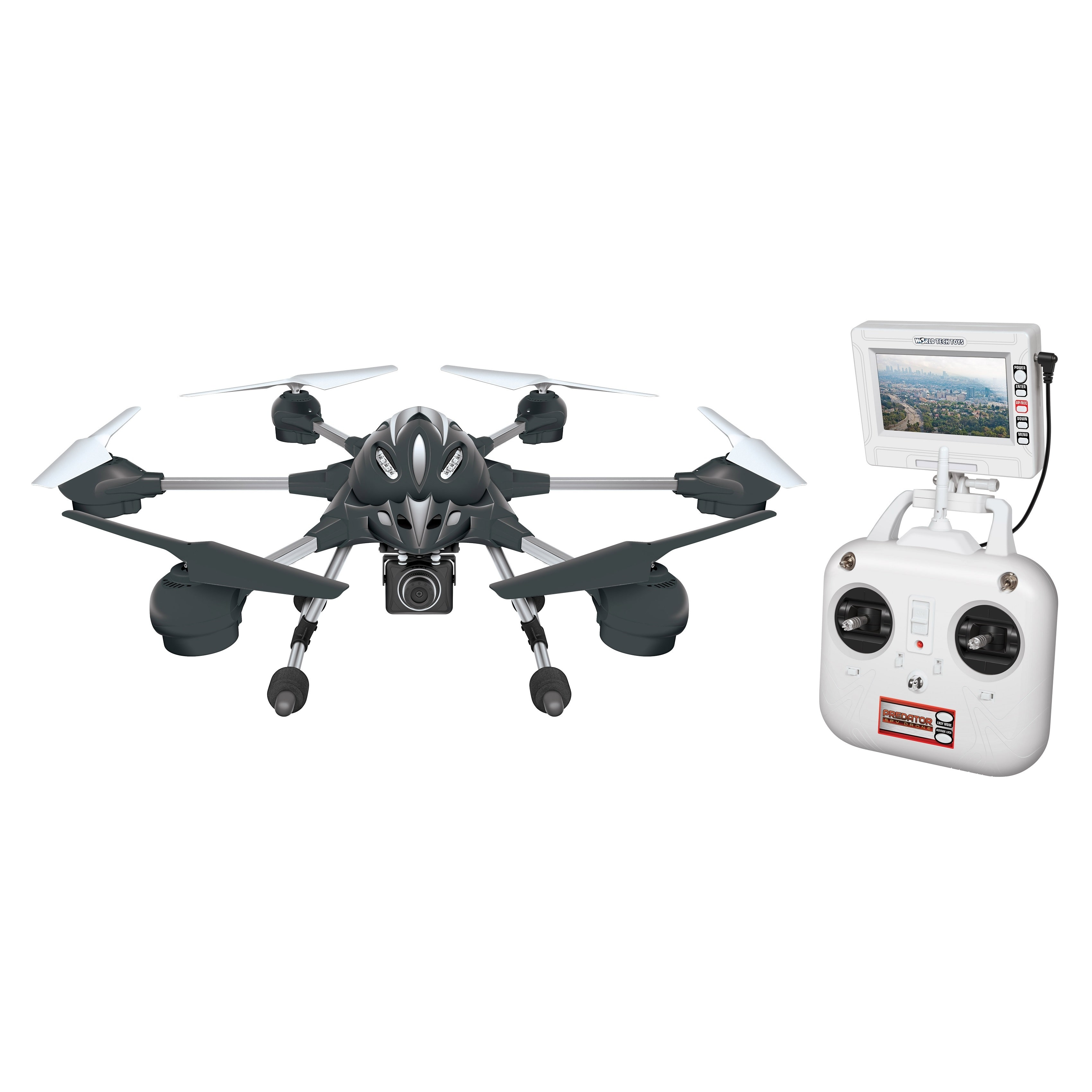 World Tech Toys Alpha 2.4GHz 4.5CH Camera RC Spy Drone by Overstock