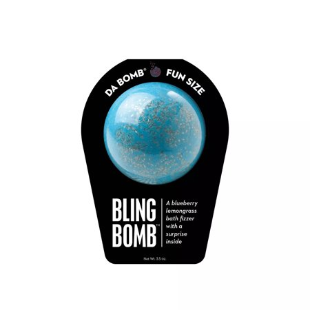 Da Bomb Bath Fizzers Bling Bomb Bath Soak, Perfect for Adults and Kids Alike, Gluten-Free, 3.5 Ounce, Black - image 3 de 3