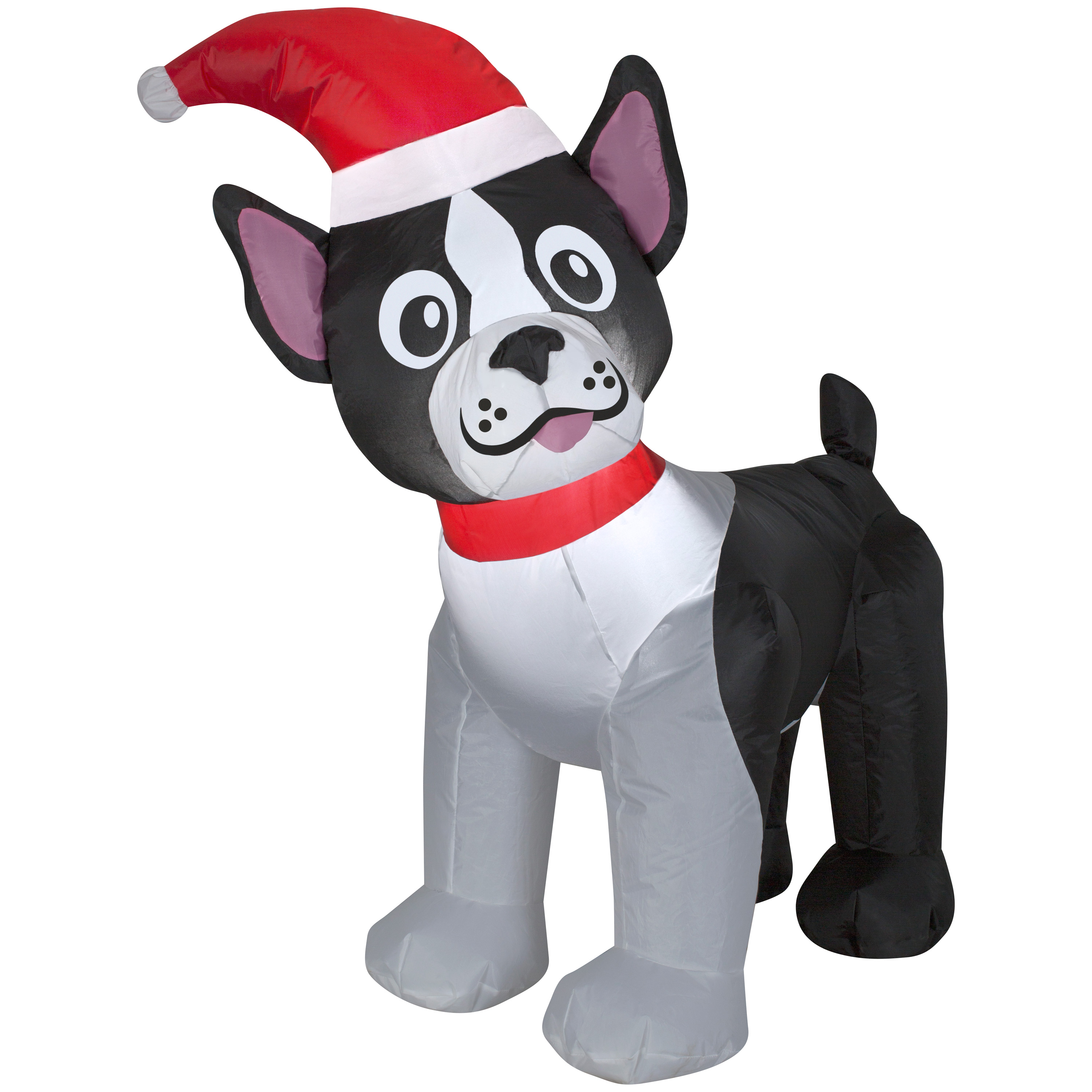 Airblown Inflatable Boston Terrier 3.5ft tall by Gemmy Industries