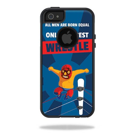 Skin For OtterBox Commuter iPhone 5/5s/SE Case – Best Wrestle | MightySkins Protective, Durable, and Unique Vinyl Decal wrap cover | Easy To Apply, Remove, and Change Styles | Made in the
