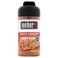 (2 Pack) Weber Grill Creations Kick'n Chicken Seasoning, 5.5 oz