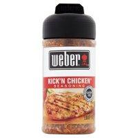 (2 Pack) Weber Grill Creations Kick'n Chicken Seasoning, 5.5 oz