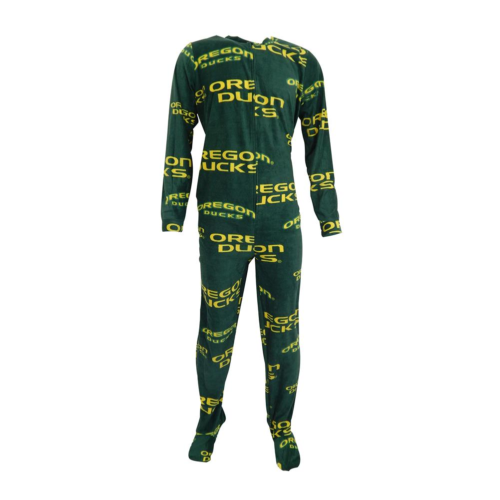 University of Oregon Ducks Footie Pajamas Union Suit