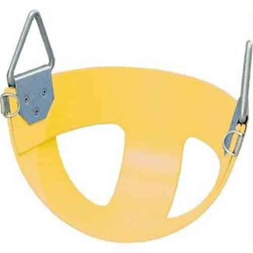 Olympia Sports PG419P Bucket Rubber Swing Seat - Yellow