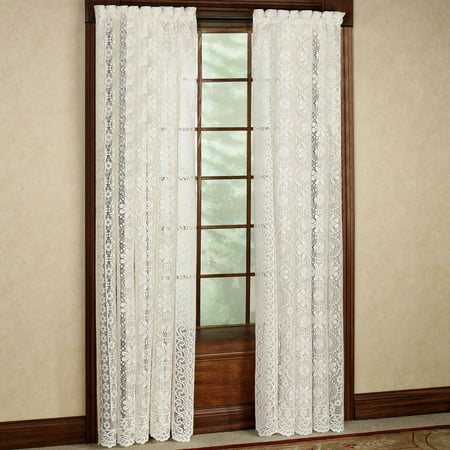 Luxurious Old World Style Lace Window Curtain Panel 58