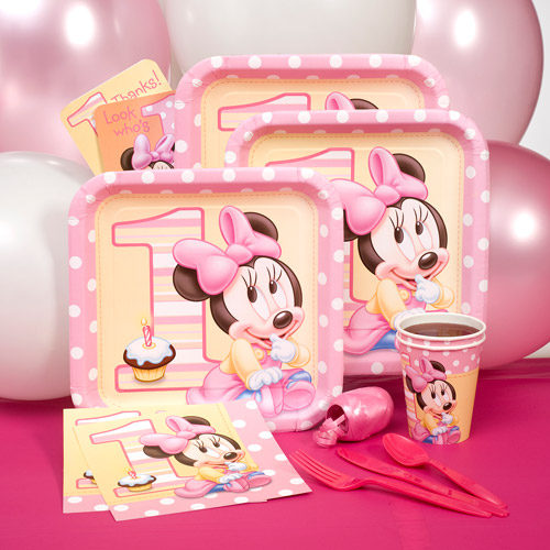 Minnie's 1st Party Pack for 8
