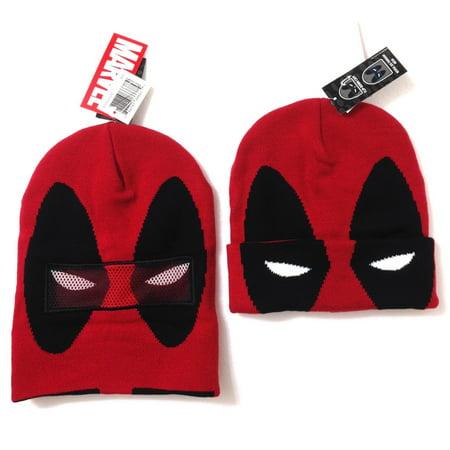 Beanie - Flip-Down Mask Deadpool - Deadpool Cosplay Buy