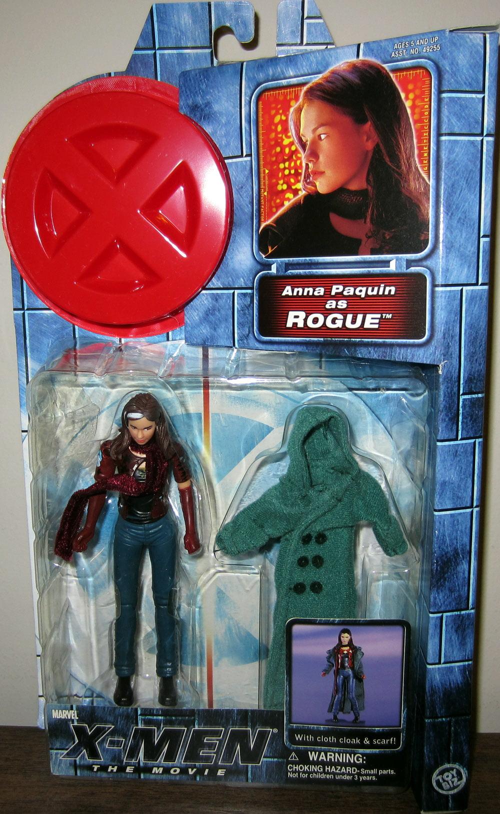 X-Men Movie Rogue Action Figure Anna Paquin by Toy Biz