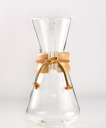 Glass Coffee Makers chemex 3 cup classic glass coffee maker cm 1c - walmart