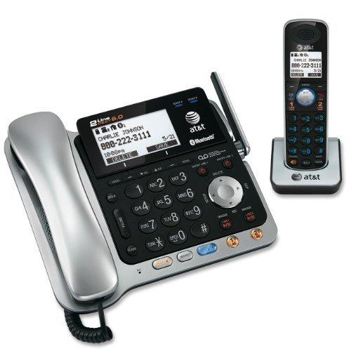 2 line cordless phone with answering machine