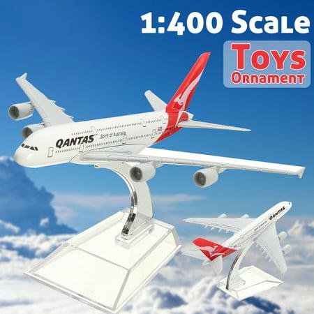 "5 Kinds of  16cm/6.3"" Qantas Airways Australia Airlines A380 B747 Airplane DieCast Plane Model Toy B747 VIRGIN ATLANTIC Britain One World"