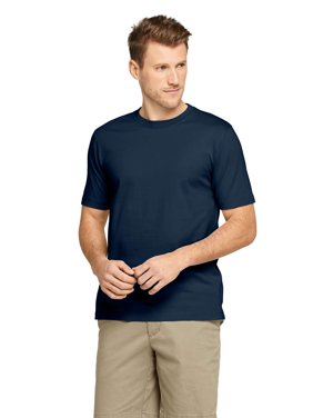 a8f8c564 Product Image Lands' End Men's Short Sleeve Super T-Shirt