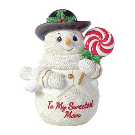 Precious Moments To My Sweetest Mom Snowman Resin Figurine - Snowman Figurines