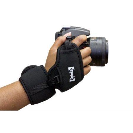 Opteka GS-3 Neoprene Padded Dual Grip/Wrist Strap for Canon EOS, Nikon, Sony, Olympus & Pentax DSLR