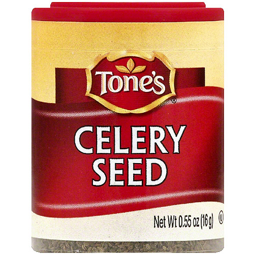 Tone's Celery Seed, 0.55 oz (Pack of 6)