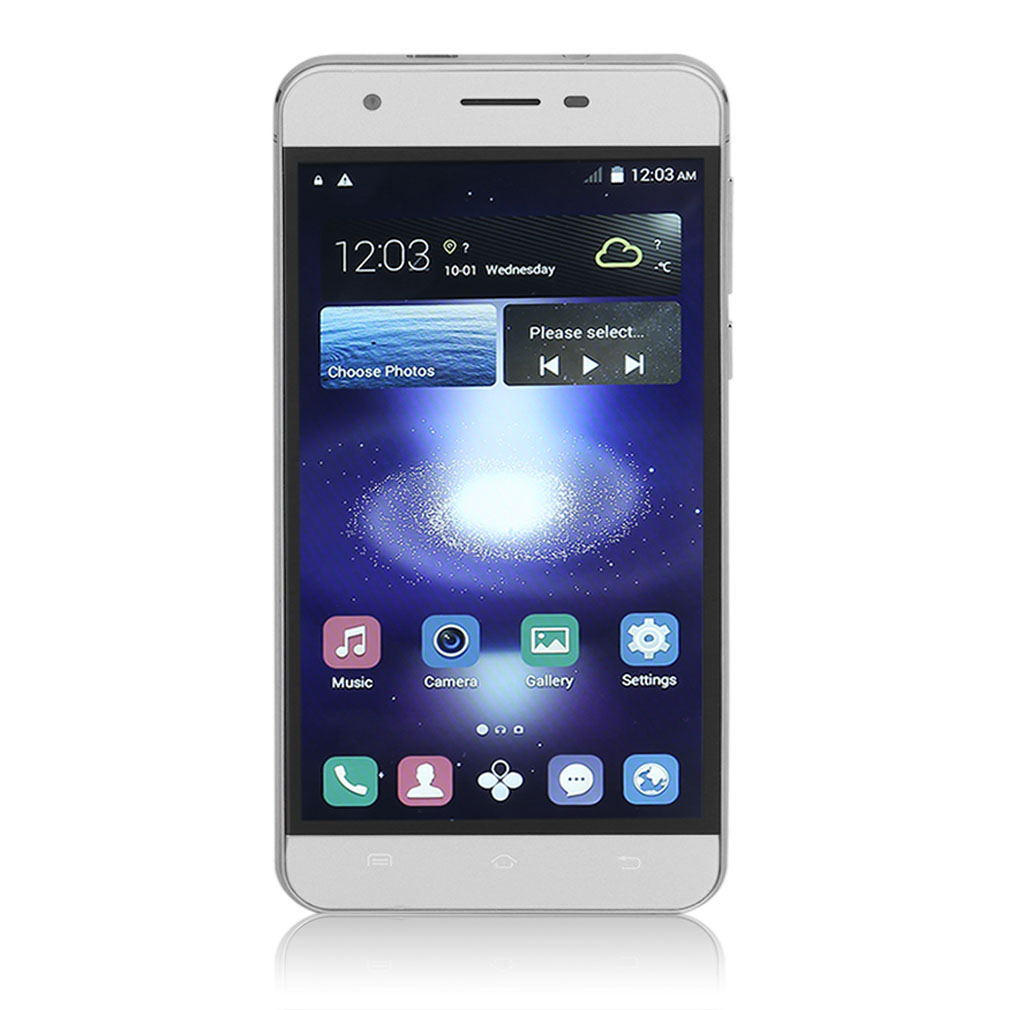 X7S 5.0 Inch Quad Core Dual SIM Card Mobile Phone RAM 512M+
