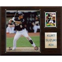 C&I Collectables MLB 12x15 Kurt Suzuki Oakland Athletics Player Plaque
