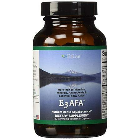 E3Live E3AFA 120ct (400mg) 1 bottle; Increase endurance and