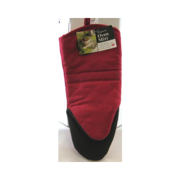 ritz royale collection puppet oven mitt with neoprene, 13-inch, paprika