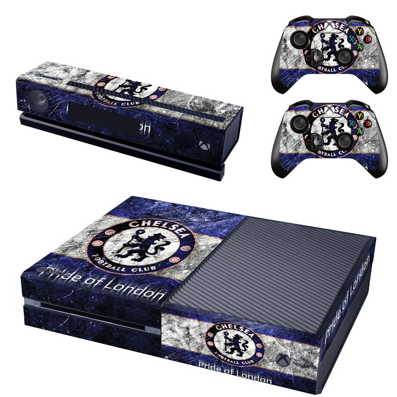 Chelsea Console Skin 2 X Controller Stickers Decal For Xbox One Faceplate Walmart Com Walmart Com