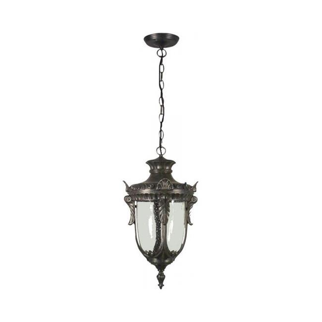 Special Lite Products F 2944 Blk Bv Medium Chain Pendant Light Fixture Black
