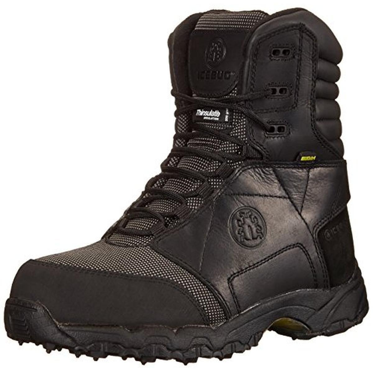 Icebug Mens Vidar Pro High Leather Aluminum Toe Work Boots