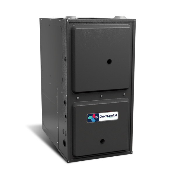 "HVAC Direct Comfort by Goodman DC-GCVC Series Gas Furnace - 96% AFUE - 100K BTU - 2 Stage - Downflow/Horizontal - 21"" Cabinet"
