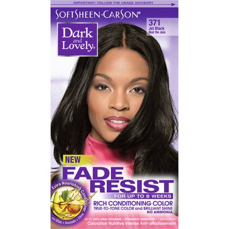 SoftSheen-Carson Dark and Lovely Fade Resist Rich Conditioning Color - Dark Green Hair Dye