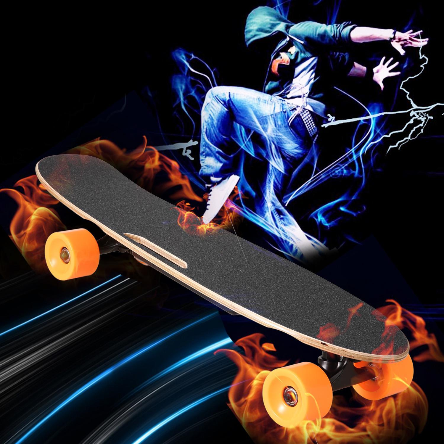 2018 The Newest 27inch Bluetooth Electric Skateboard Longboard With Remote Controller And Smart Power off on ,Samsung... by