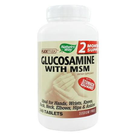 Nature's Way - Glucosamine MSM - 240 comprimés