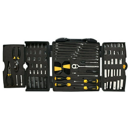 STANLEY 150-Piece Mechanics Tool Set, Chrome | 97-543