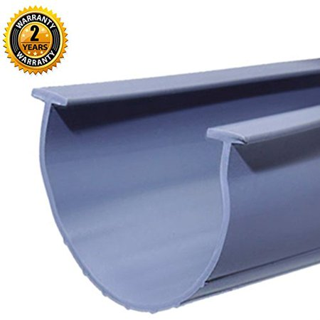 Seal Strip Best for Garage Door Bottom T Ends Rubber Replacement 20 Foot (Best Rubber Doors)