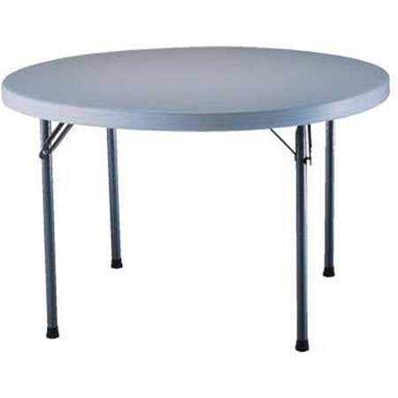 46 Inch Round Table.Lifetime 46 Round Commercial Folding Table 22960