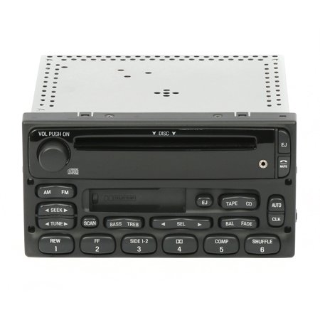 2000 Factory Radio - Ford 1999 2000 2001 2002 2003 2004 Ranger Radio AM FM CD CS IPOD IPAD MP3 Input - Refurbished