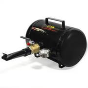 XtremepowerUS 5 Gallon Tire Bead Seater Blaster Seating Capacity Inflator ATV 145PSI, Black